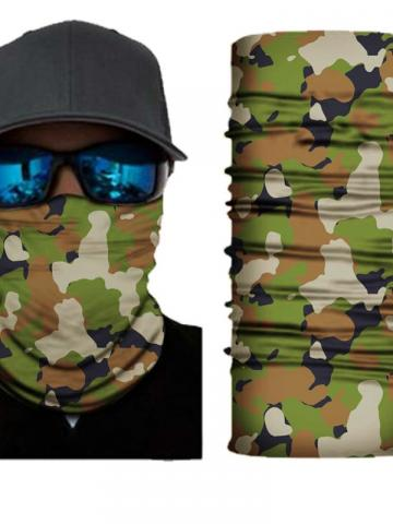 4-Pack: Motorcycle Face Mask and Dust Wind Protection / Type 2