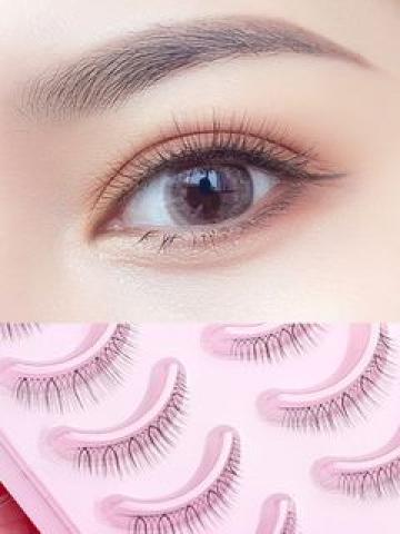 False Eyelashes #505 As Shown In Figure - One Size